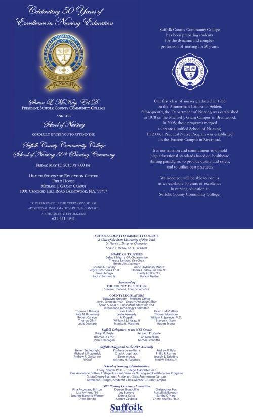 SON 50 Invitation