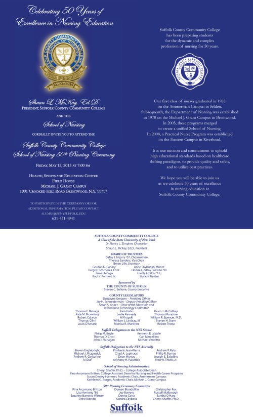 SON 50 Invitation